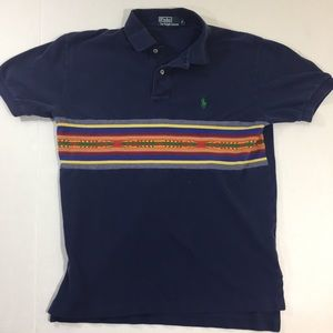 Men's Polo Ralph Lauren Unique Aztec Shirt S
